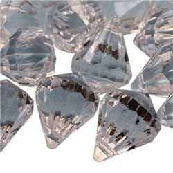 24x18mm Hanging Acrylic Crystals