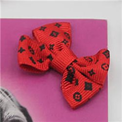 "Bow Fabric Embellissements 1 49/64"" 40 Msx"