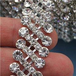 Strass Cristal chaîne Style 1443 1 Verge