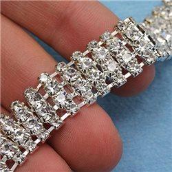 Rhinestone Crystal Chain Style 1262 1 Yard