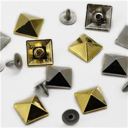 12mm Pyramid Studs with nail 20 Msx