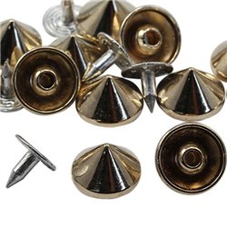 11mm Spike Studs with nail 20 Pcs