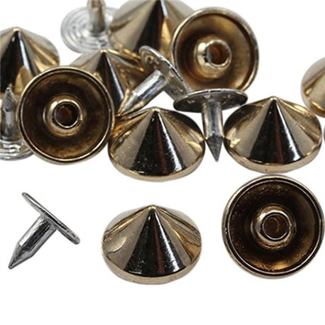 11mm Spike Studs with nail