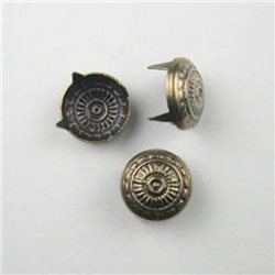 9MM COPPER CS9 ROMAN  - 100 Pieces
