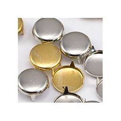 5mm Gold Spot Stud 4 Prongs Non Rusting  - 200 Pieces