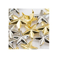 Star Nailheads 5 Prongs Size 40 9mm 50 Pcs