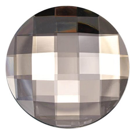 Round Acrylic Gems Flat Back 60mm