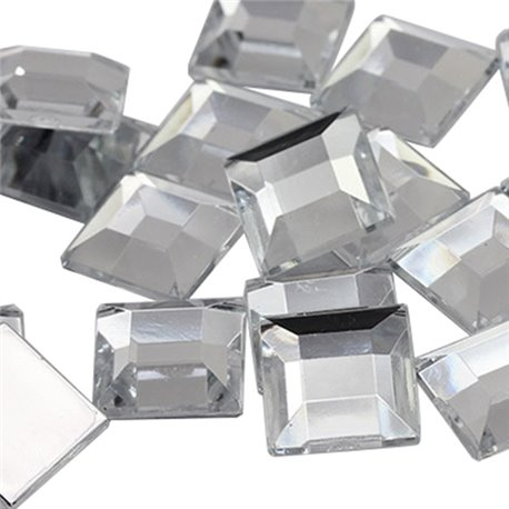 Square Acrylic Gems Flat Back 5mm