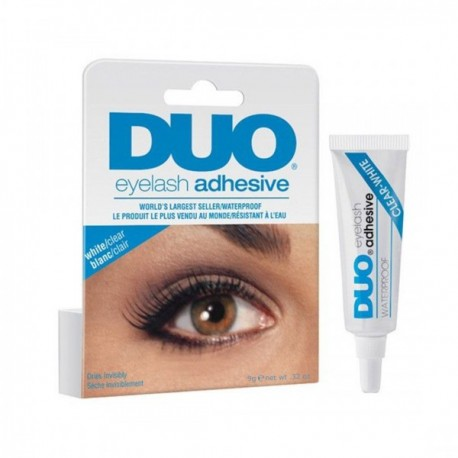 DUO Strip Lash Adhesive White/Clear, for strip false eyelash - 1 Piece