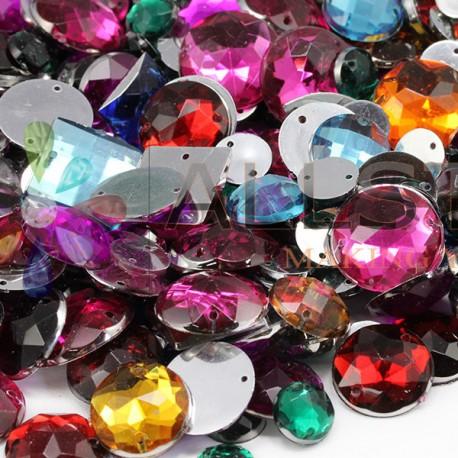Emballage de gemmes de plus de 1000 pièces