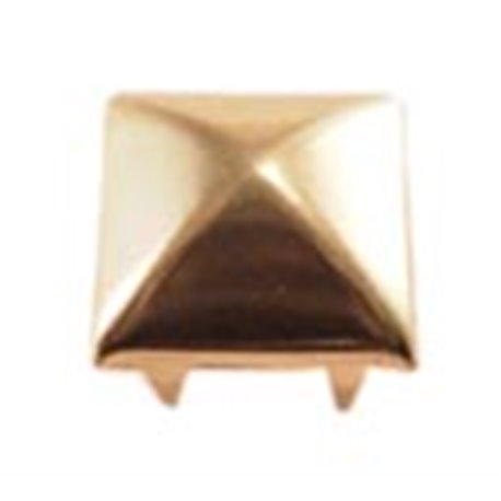 Pyramind Square Nailheads Style 8526 6 Prongs 12.5mm