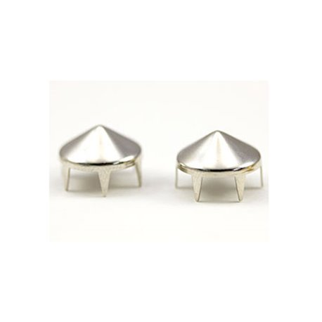 Spike Nailheads 4 Prongs Size 40 9mm