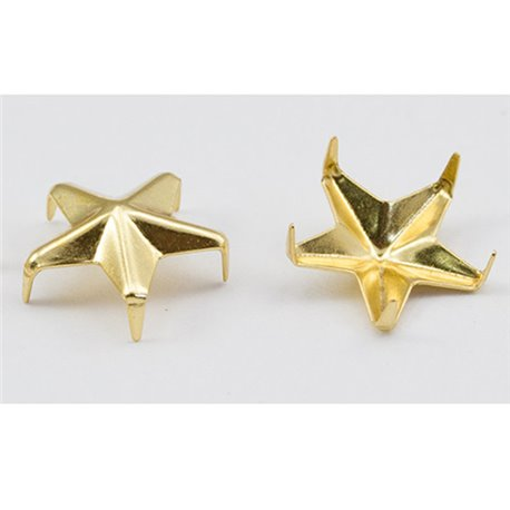 Star Nailheads 5 Prongs Size 20 5mm