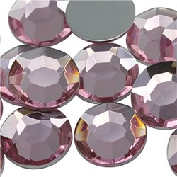 Acrylic Rhinestones Flat Back 20mm 20 Pcs