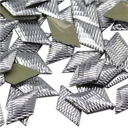 Hotfix Diamond Nailheads 12x6mm 100 Pcs