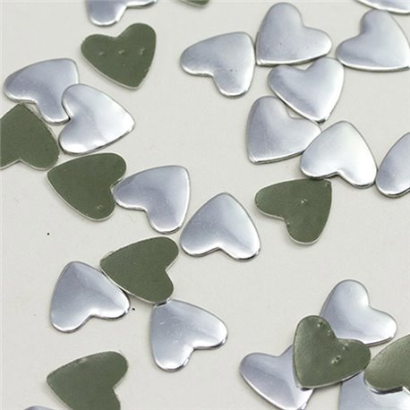 Hotfix Heart Nailheads 10mm 100 Pcs