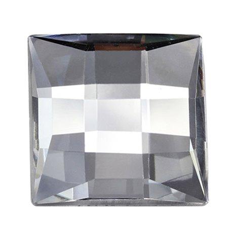 """Large Square Gems Flat Back 30mm / 1-3/16"""" 4 Pcs"""
