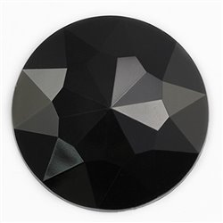 "Giant Gems Round Flat Back 50mm / 2"" 4 Pcs"