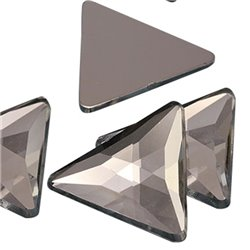 Triangle Acrylique Gemmes Dos Plat 23mm 14 Msx
