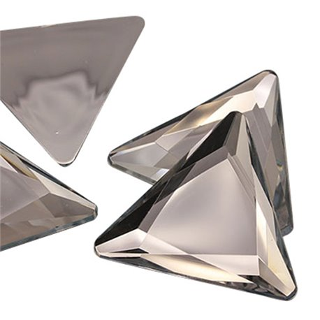 "Extra Large Triangle Gems Flat Back 45mm / 1-3/4""  4 Pcs"