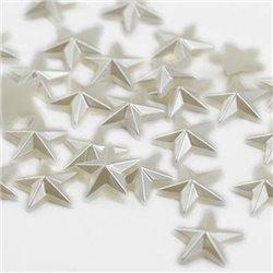 10mm Pearl Stars 30 Pcs