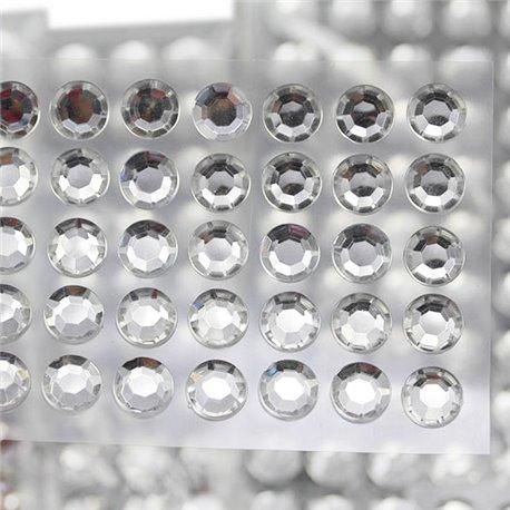 Self Adhesive Rhinestones SS46 10mm 5 Sheets / 250 Pcs