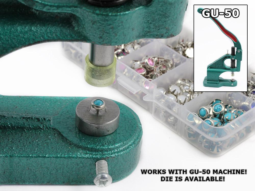 gemagic bedazzler rhinestones stud setter tool handpress
