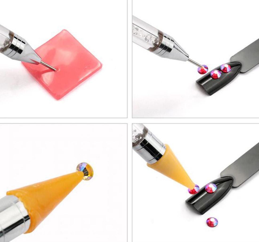 allstarco rhinestones gems cabochons pick up pen pencil