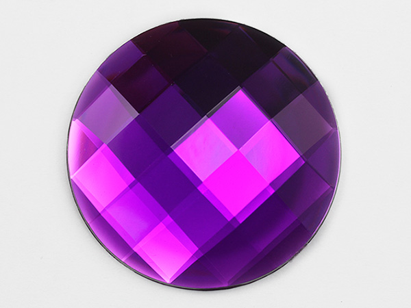 Purple Flat Back Gems