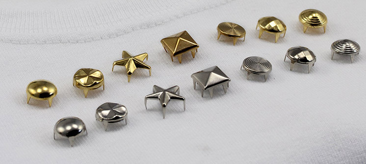 bedazzler studs gold and silver
