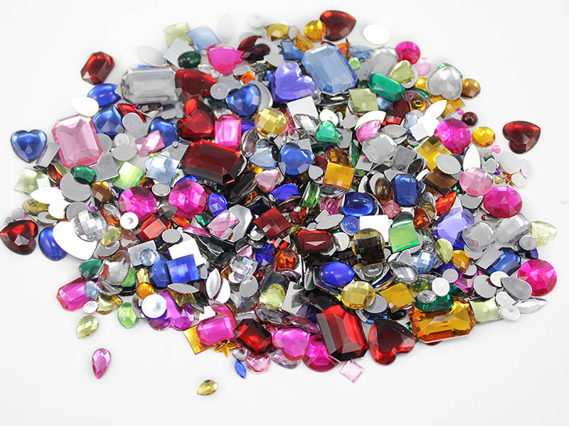 crafts gems in bulk allstarco flat back