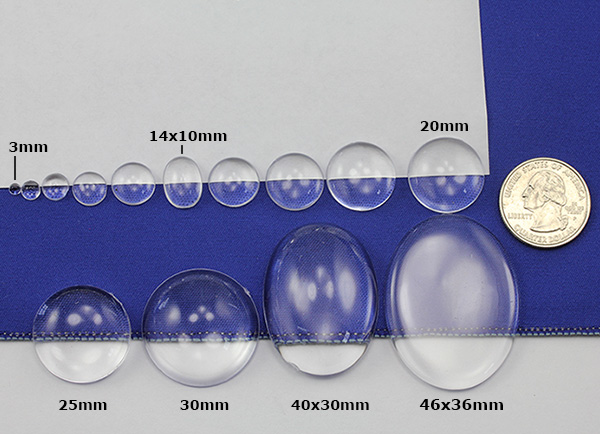 allstarco clear cabochons cabochons acrylic rhinestones size reference
