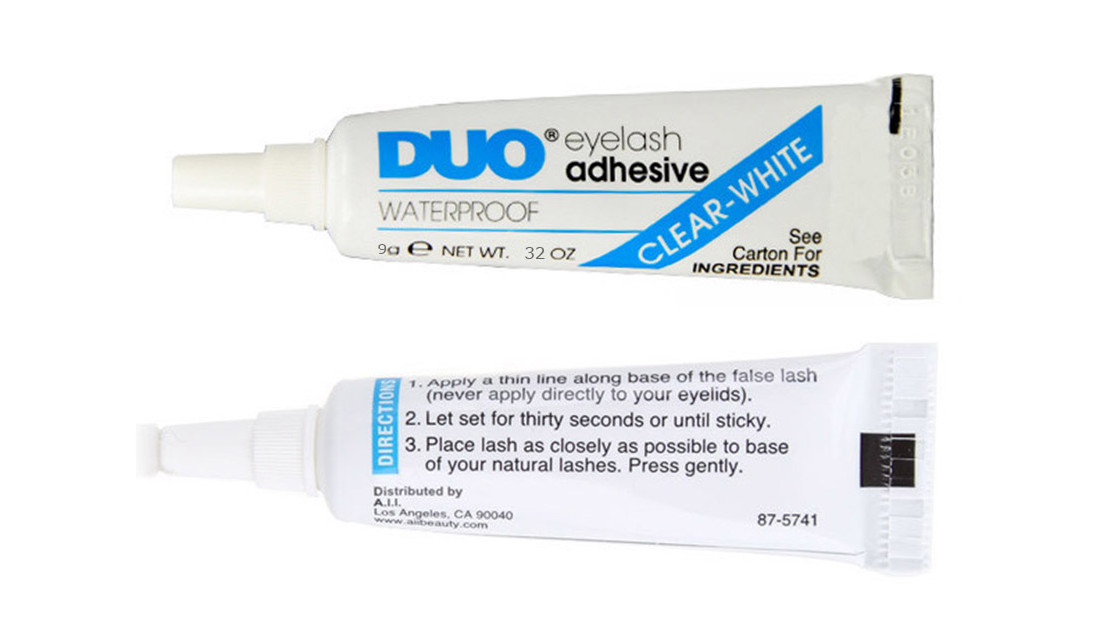 safe for skin glue duo eyelash