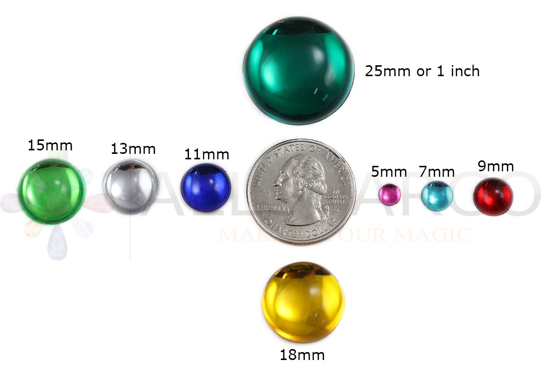 allstarco round pearl cabochons acrylic rhinestones size reference