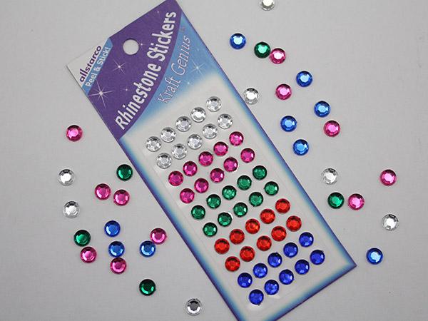 Self Adhesive Gems