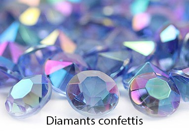 Diamants confettis