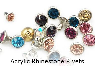Acrylic Rhinestone Rivets