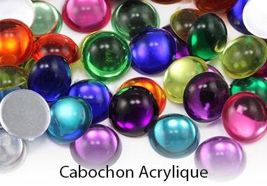 Cabochon Acrylique